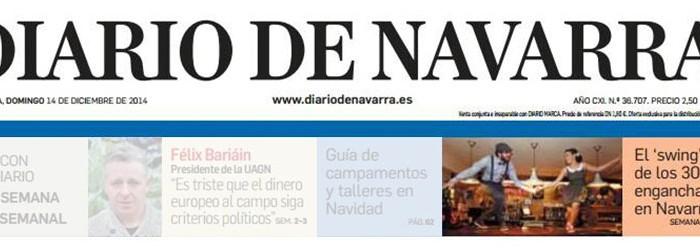 Pamplona Swing en portada