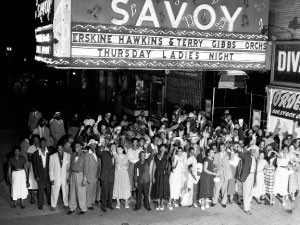 El famoso salón Savoy donde se celebraban bailes de swing